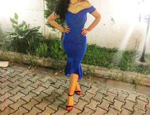 Ein sehr elegantest/sexy Kleid