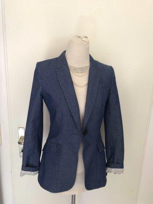 Ein sehr schöner Taillierter Blazer in Gr S in blau. vielfach kombinierbar