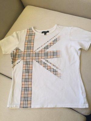 Ein T-Shirt in weiß von Burberry