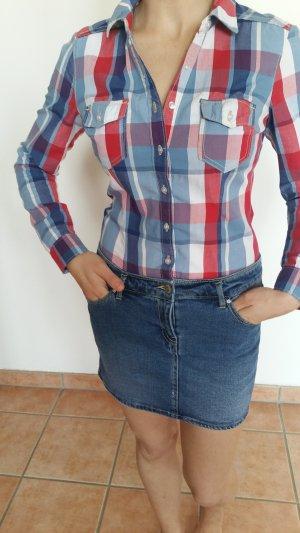 Ein tolles Hemdkleid, kariert, mit Jeansrock von H&M, wie neu!!