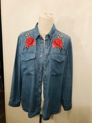 Promod Camicia blusa azzurro
