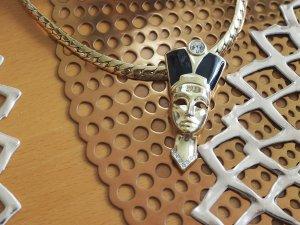 Ein Traum ! Halskette Gold/Schwarz