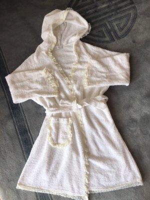 Accappatoio bianco sporco Cotone
