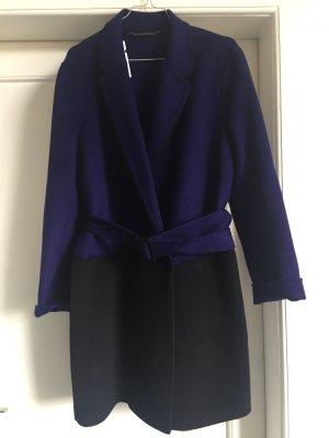 Diane von Furstenberg Cappotto viola scuro-nero