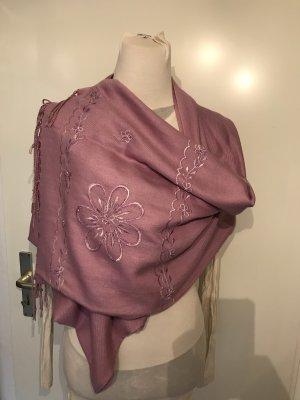 Sjaal roze-lichtroze