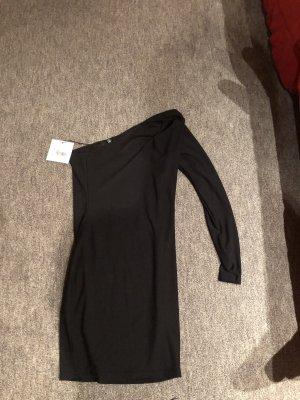 Missguided One Shoulder Dress black