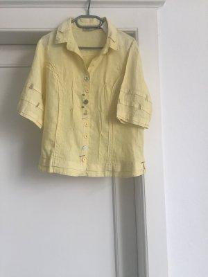 Eine gelbe Bluse von BOTTEGA in der Gr 38