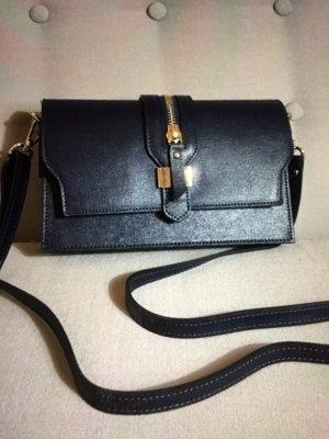 Eine kleine italienische süße Umhängetasche. Genuine Leather. Börse in Pelle