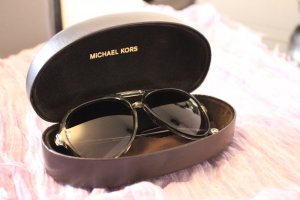 Michael Kors Glasses mauve synthetic material