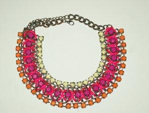 Collier multicolore Metallo