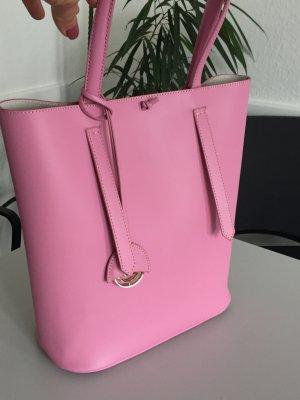Eine wunderschöne Tasche von Mezzanotte in traumhaften Rosa.