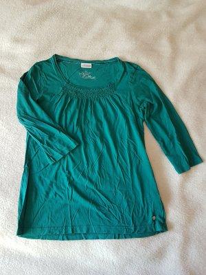 einfaches Shirt mit 3/4-Arm