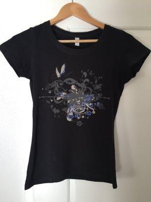 Einfaches T-Shirt mit Aufdruck