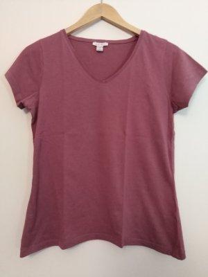Einfaches T-shirt mit V-Ausschnitt