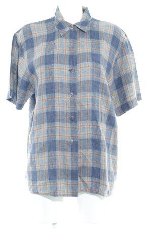 Einhorn Chemise à manches courtes motif à carreaux style classique