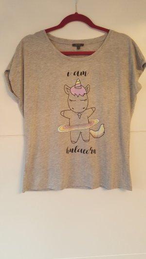 Einhorn-Shirt von Montego in L
