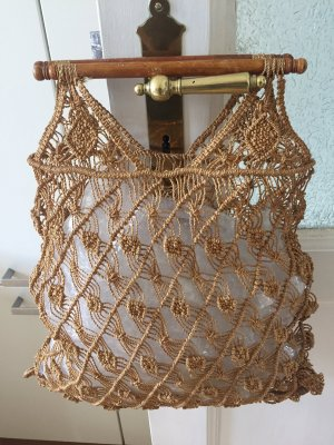 Burlap Bag sand brown