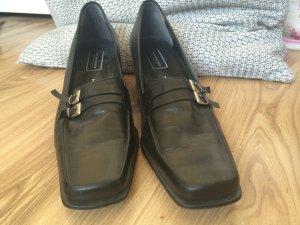*einmal getragene schicke Schuhe Pumps von C&A your 6th sense silberner Schnalle