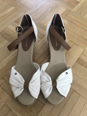 Tommy Hilfiger Wedge Sandals white