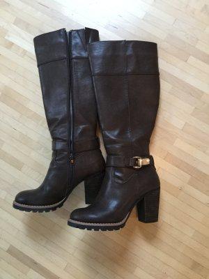Einmalig getragene Stiefel mit gutem Profil, Pascottini, Gr. 38