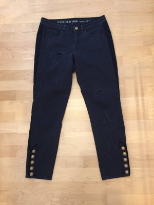 Rosner Jeans stretch bleu foncé-bleu