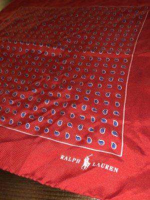 Polo Ralph Lauren Pañuelo de bolsillo rojo oscuro-rojo ladrillo Seda