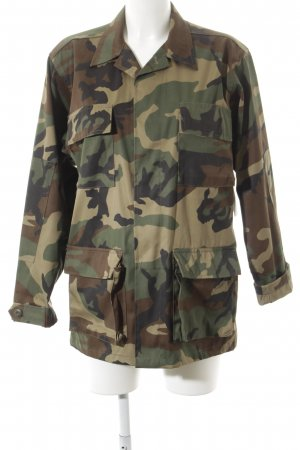 Einstein & Newton Veste militaire motif de camouflage style militaire