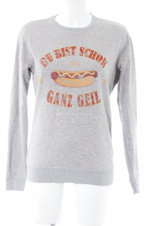 Einstein & Newton Sweatshirt grau Casual-Look