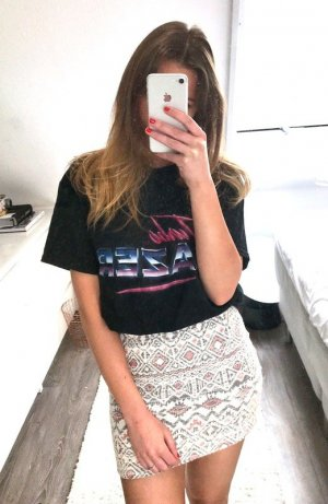 Einstein & Newton T-Shirt Instagram Zara Shirt Oversize Top Blogger Retro Oldschool