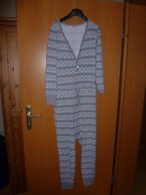 Hunkemöller Pyjama silver-colored-white