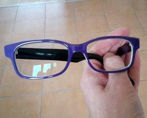 Einzelstück!!! Brille im Wayfarer Stil von Wissing