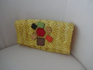 Clutch multicolored