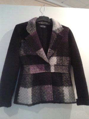 einzigartige besondere Jacke echte Lana Wolle von VESTINO / italienische Mode