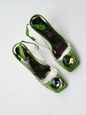 Einzigartige durchsichtige Schuhe