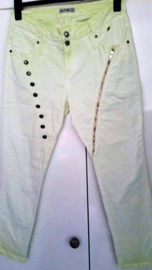 Einzigartige  Tredy Jeans Use Look Boyfrend  Pistazien Gr 44