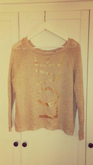 ~einzigartiger, goldener Pullover von River Island.~