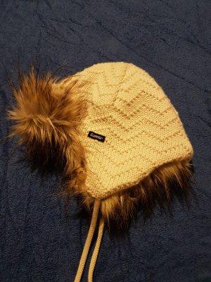 Eisbär Gorra blanco-marrón claro