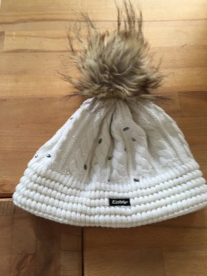 Eisbär Mütze mit Swarovski Kristallen