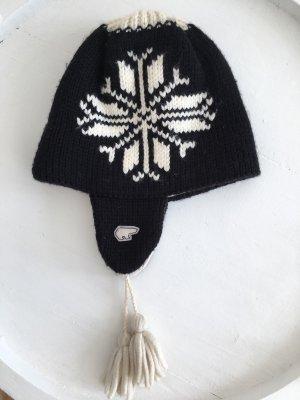 Eisbär Knitted Hat black-white