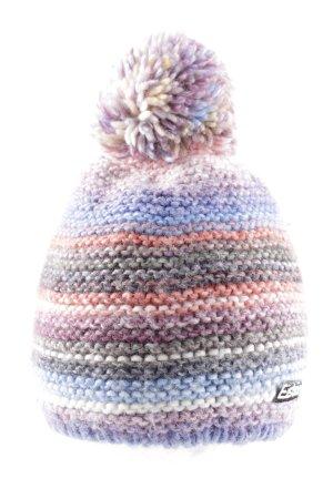 Eisbär Chapeau en tricot multicolore style décontracté