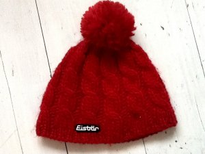 Eisbär Knitted Hat red