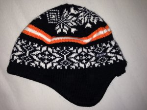 Eisbär Knitted Hat multicolored mixture fibre