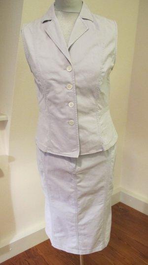 Shirtwaist dress pale blue cotton