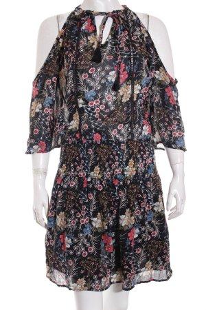 Eksept Kleid mehrfarbig Bommelelement