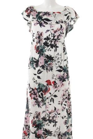 Eksept Maxikleid florales Muster Romantik-Look