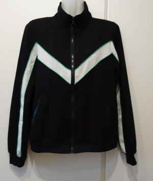 Eksept Retro Look Sweater Zipper Jacke Gr. S Trainingsjacke Sporty Clean Chic