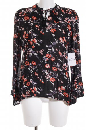 Eksept Transparenz-Bluse florales Muster Street-Fashion-Look