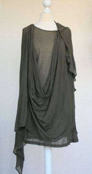 Tunic Dress dark green viscose