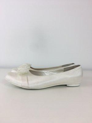 Ballerina bianco-bianco sporco