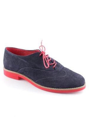El Ganso Budapest schoenen donkerblauw-karmijn zakelijke stijl